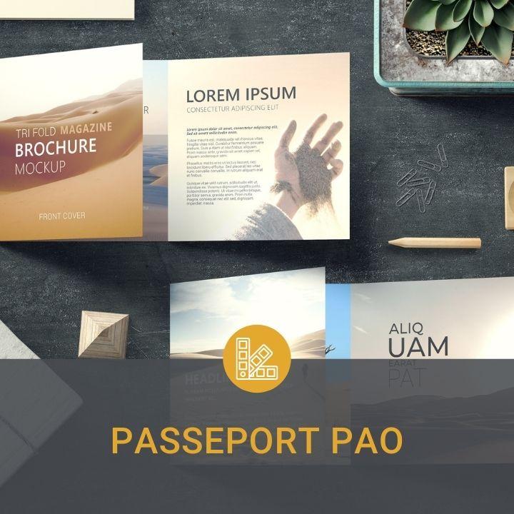 passeport pao indesign illustrator photoshop communication formation oise