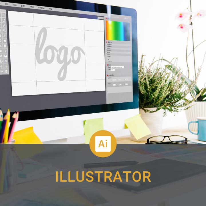 formation illustrator pour créer des illustrations